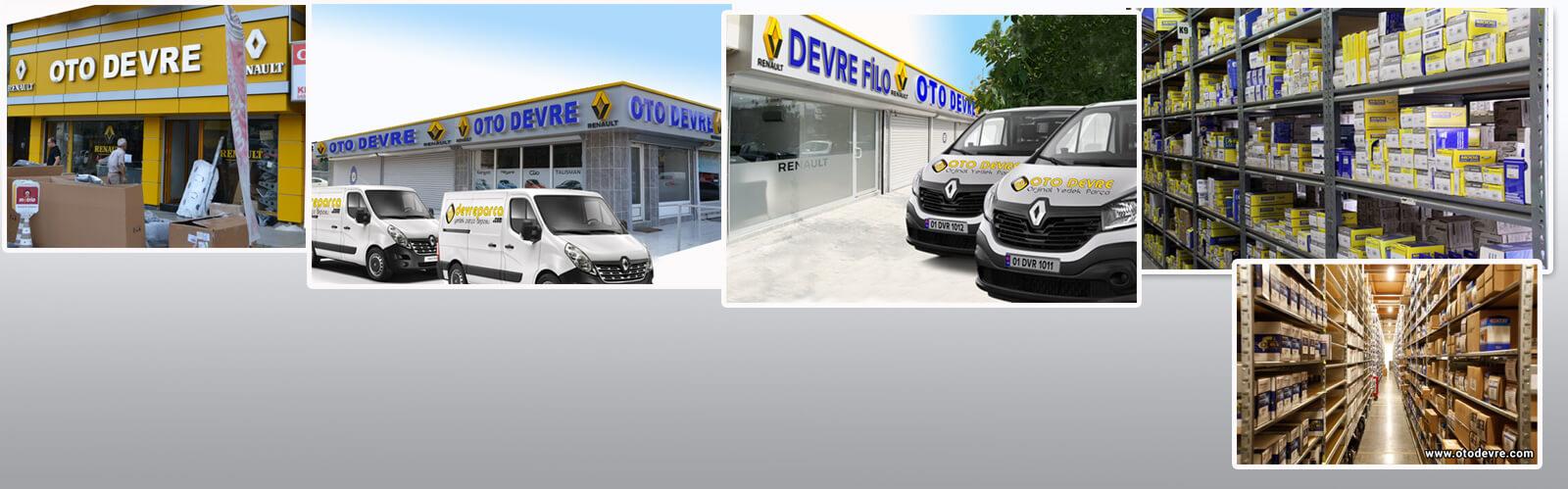 Renault -Dacia Yedek Parça deposu